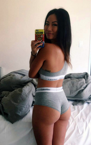 Hot self-shot collection of sexy asian..