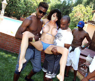 Mixed asian gangbang porn pictures..