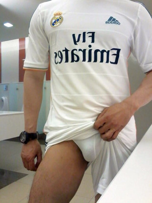 Asian Boys exposing Cock in Sports Kit