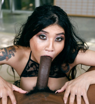 Sexy asian whore with big breast named..